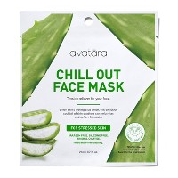Unscented Avatara Chill Out Face Mask For Stressed Skin - 0.71 fl oz