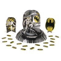 American Greetings Batman Party Supplies Table Decoraton Kit, 1-Count