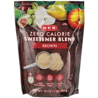 H-E-B Zero Calorie Brown Sweetener Blend