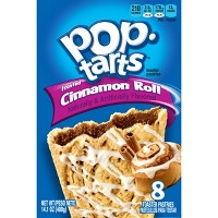 Pop-Tarts Frosted Cinnamon Roll Toaster Pastries - 8ct/13.54oz - Kellogg's
