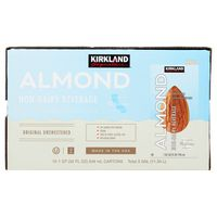 Kirkland Signature Original Almond Beverage, 12 x 32 oz