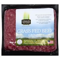 Strauss Grass Fed Ground Beef 85% Lean 15% Fat