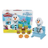 Play-Doh Disney Frozen Olaf's Sleigh Ride Toy with 5 Cans (10 oz)