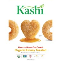 Kashi Heart to Heart Honey Toasted Oat Breakfast Cereal - 12oz