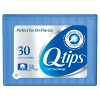 Q-tips Blue Purse Pack Cotton Swabs - 30ct