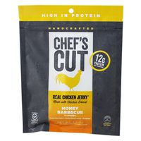 Chef's Cut Jerky, Smoked Chicken Breast, Honey Barbecue Flavor
