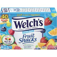 Welch's Fruit Snacks, Mixed Fruit