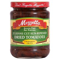 Mezzetta Julienne Sun Dried Tomato in Olive Oil 8 oz