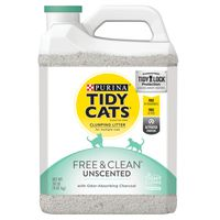 Tidy Cats Clumping Cat Litter, Free & Clean Unscented Multi Cat Litter