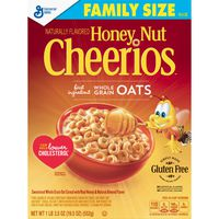 Cheerios Honey Nut , Gluten Free, Cereal with Oats
