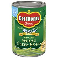 Del Monte Green Beans, Whole, Blue Lake