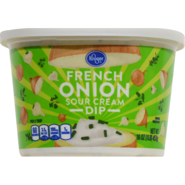 Kroger French Onion Sour Cream Dip From Kroger In Dallas Tx