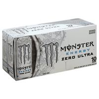 Monster Energy Drink, Zero Ultra, 10 Pack