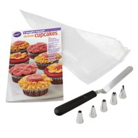 "Wilton ""I Taught Myself To Decorate Cupcakes"" Cupcake Decorating Book Set - How To Decorate Cupcakes"