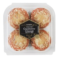 Marketside Cranberry Orange Muffins, 14 oz, 4 Count