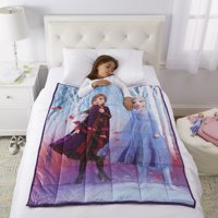 Disney's Frozen 2 Kids Weighted Blanket, 4.5lb, 36 x 48, Walking to Winter