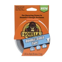Gorilla Double-Sided Tape Roll, 8 yd