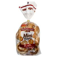 Pepperidge Farm® Mini Plain Bagels