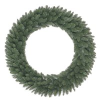 Holiday Time Green Basic Artificial Christmas Wreath, 36 in
