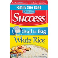 Success Boil-In-Bag White Rice, 32-Ounce Box