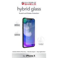 ZAGG InvisibleShield Hybrid Screen Protector for Apple iPhone X and XS