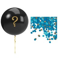 Gender Reveal Balloon Party Kit Blue
