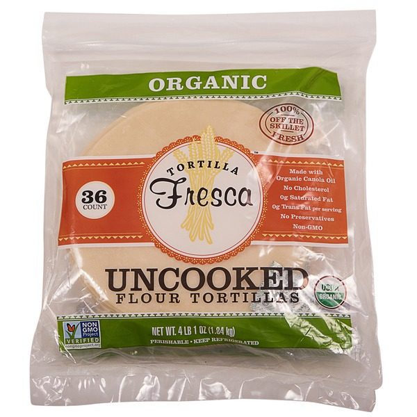 Organic Uncooked Flour Tortillas 36 Ct From Costco In Houston Tx Burpy Com