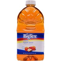 BigTex 100% Apple Juice, 48 Fl. Oz.