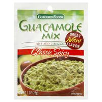 Concord Foods Guacamole Mix, Classic Spicy