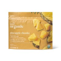 Organic Frozen Pineapple Chunks - 10oz - Good & Gather™