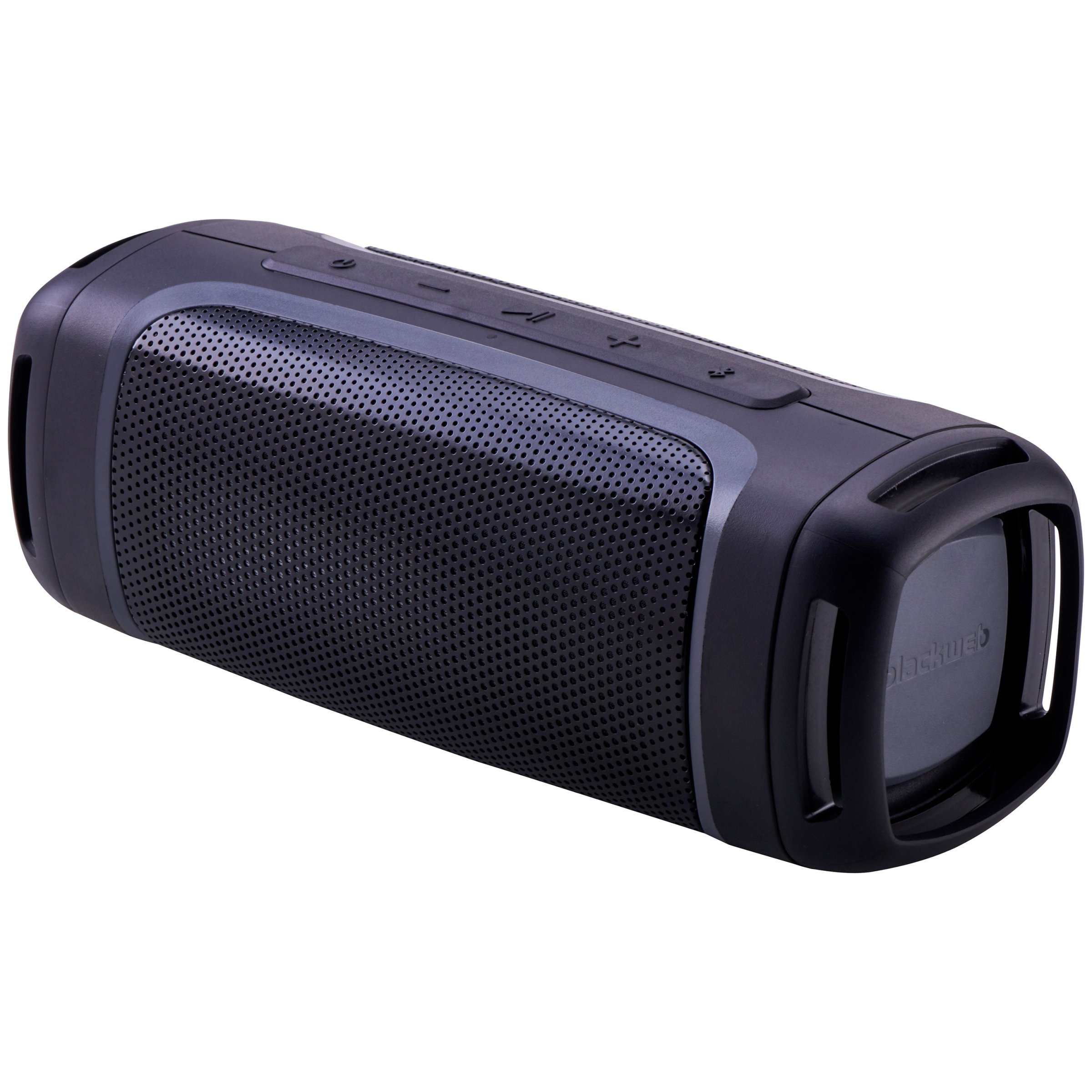 Blackweb Rugged Portable Bluetooth Speaker With Built In Speakerphone Ipx5 12 Hour Playtime Bwa18aa011 From Walmart In Austin Tx Burpy Com