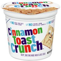 Cinnamon Toast Crunch Sweet Whole Wheat Cereal Cup 2oz