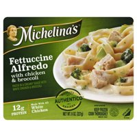 Michelina's Fettuccine Alfredo with Chicken & Broccoli Frozen Entree 8 oz. Tray