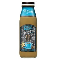 Caffe Monster, Vanilla - 13.7 fl oz Glass Bottle