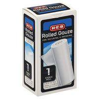 H-E-B 4in x 2.5yds Rolled Gauze
