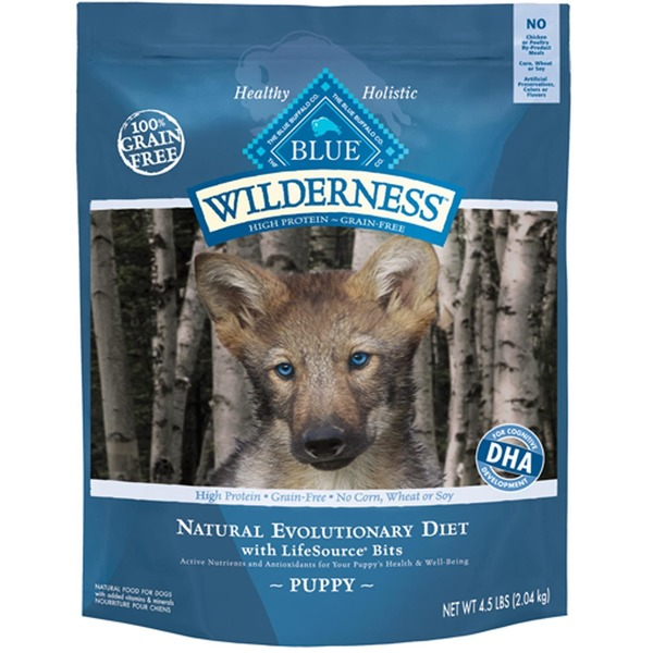 Blue Wilderness Dog Food, with Chicken and LifeSource Bits, Puppy