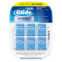 Oral-B Glide Pro-Health Advanced Floss, 6-Pack