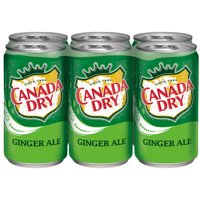 Canada Dry Ginger Ale, 7.5 fl oz cans, 6 pack
