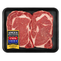 Beef Choice Angus Ribeye Steak Thin, 0.43 - 1.68 lb