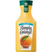 Simply Beverages Pulp Free Low Acid Orange Juice