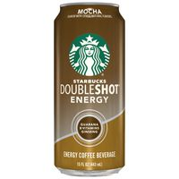 Starbucks Double Shot Energy Mocha Fortified Energy Coffee Drink