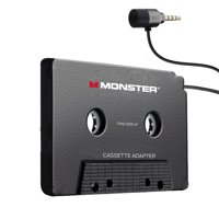 Monster Cassette to Auxiliary 3.5mm Input Audio Adapter – 3ft