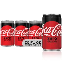 Coca-Cola Zero Sugar Soda, 7.5 Fl. Oz., 6 Count