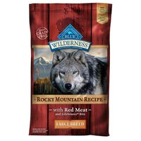 Blue Food for Dogs, Natural, Rocky Mountain Recipe, Large Breed, with Red Meat