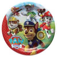 PAW Patrol Paper Dinner Plates, 8-Count