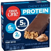 Fiber One Peanut Butter Protein Chewy Bars - 5ct