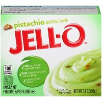 Jell-O Instant Pistachio Pudding & Pie Filling - 3.4oz
