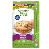 Morningstar Farms Garden Frozen Veggie Burger Patties - 4ct