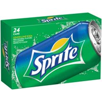 Sprite Caffeine-Free Lemon-Lime Soda, 12 Fl. Oz., 24 Count