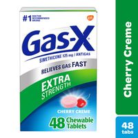 Gas-x Extra Strength Gas Relief Chewable Tablets, Cherry Creme